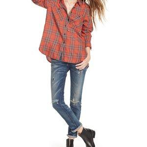 Ralph Lauren Shirt Plaid Button Down